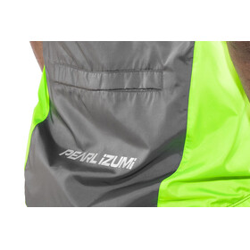 PEARL iZUMi ELITE Barrier Vest Men Smoked Pearl/Screaming Green